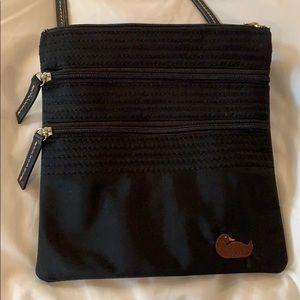 Dooney and Bourke vinyl crossbody bag